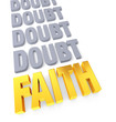Faith Overcomes Doubt