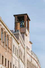 Perugia, torre del Palazzo dei Priori