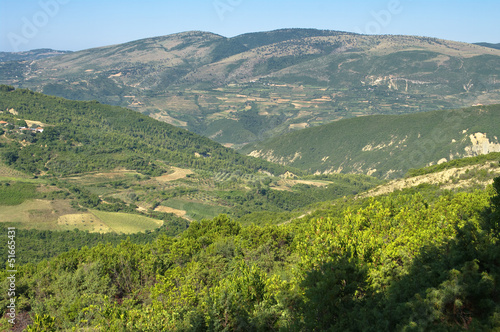 Rural Landscape Of Southern Albania