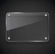 Metal texture with glass framework. - 51666871