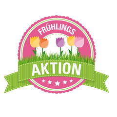 Button: Frühlingsaktion