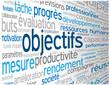 """Nuage de Tags """"OBJECTIFS"""" (projet équipe performance excellence)"""