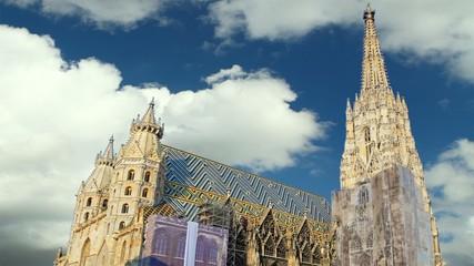 Vienna Stephans - time lapse