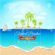 Tropical Paradise label