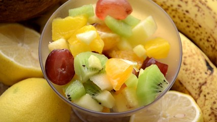 Fruit salad Macedonia de frutas