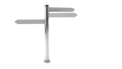 Signpost in 3d