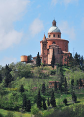 San Luca sanctuary view from San Pellegrino park