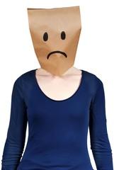 unhappy person