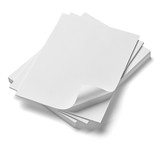 Fototapety stack of papers with curl documents office business
