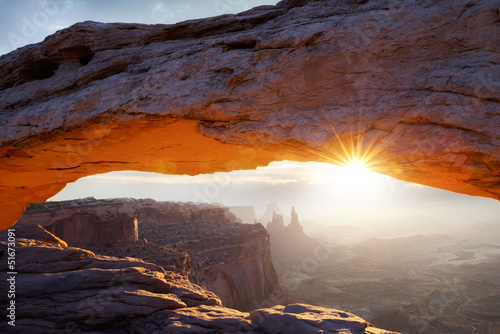 famous Mesa Arch