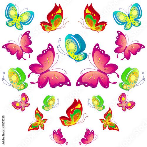 Fotobehang Vlinders butterfly,butterflies vector