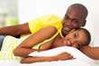 cute african lovers