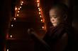 Little monk reading book