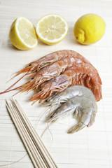 Shrimps and prawns