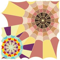 cobweb color art vector