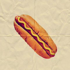 paper hotdog