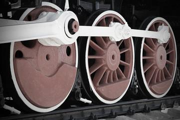 Колеса паровоза