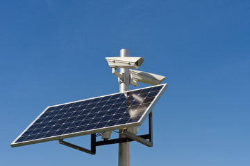 camera and photovoltaic panel