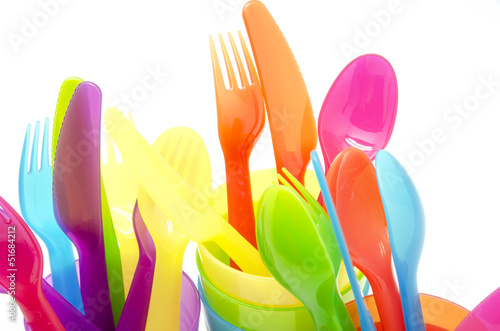 Colored   cutlery