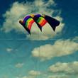 kite folded paper