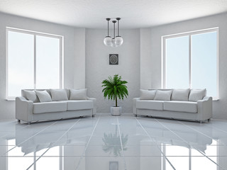 Livingroom with sofas
