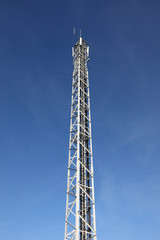Cellular antennas pole