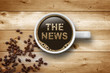 Cup of Coffee with The News