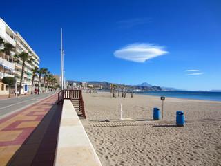 Campello Alicante esplanada y playa