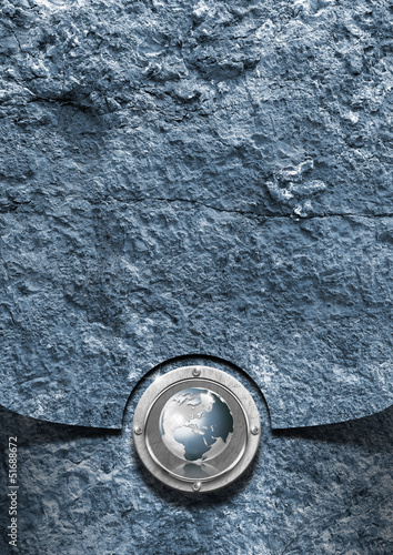 Blue Stone Business Background