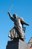 Fototapety Statue of Jan Kilinski polish hero and patriot in Warsaw