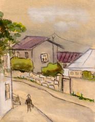Small street in Batumi