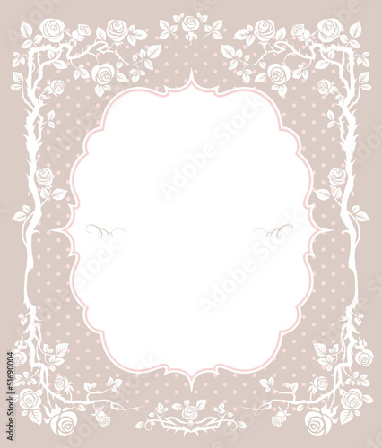 Elegant vintage festive background