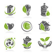 ecology icon set. Vector