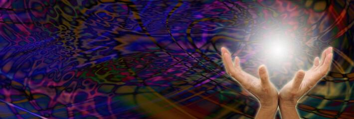 Psychodelic healing website header