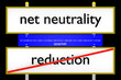 net neutrality vs reduction konzeptionell_Internet - 3D