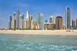 Dubai Marina from Sea 2013