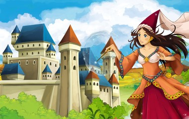 The princesses - castles - knights and fairies