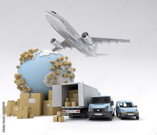 International goods transport