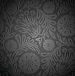 Seamless floral wallpaper with emboss effect