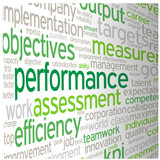 """PERFORMANCE"" Tag Cloud (team management efficiency success)"