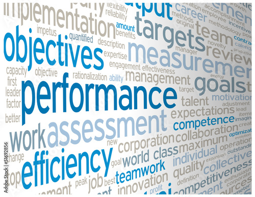 """PERFORMANCE"" Tag Cloud (team management excellence success)"