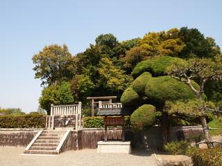 Mausoleum of Emperor Temmu and Empress Jito in Asuka - Japan