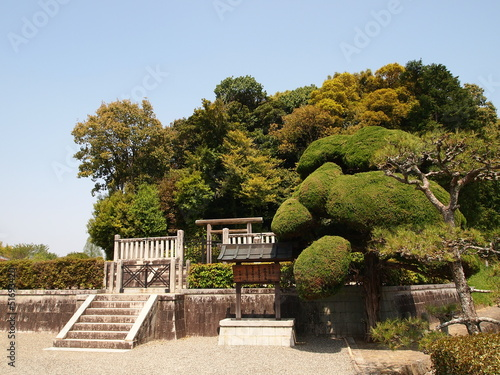 Mausoleum of Emperor Temmu and Empress Jito in Asuka - Japan