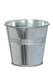 Galvanized metal bucket poster