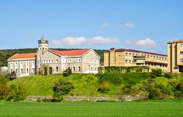 Vista de la cárcel de Nanclares (Alava, España)