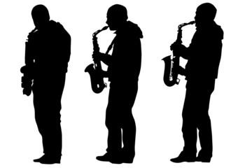 Saxophone man