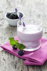 frischer Joghurtdrink