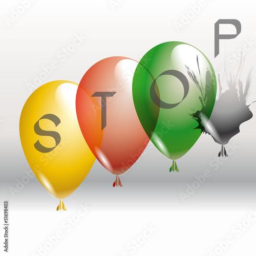 Luftballon Stop