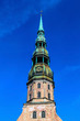Saint Peter's church in Riga, Latvia