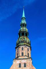 Saint Peter's church in Riga, Latvia
